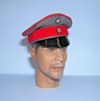 Banjoman custom made 1/6th Scale 1915 Pattern WW1 German Officer's Visor Cap.