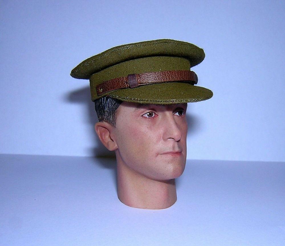Banjoman custom made 1/6th Scale WW1 British Officer Service Cap