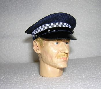 Banjoman 1:6 Scale Custom New Zealand Police Service Cap