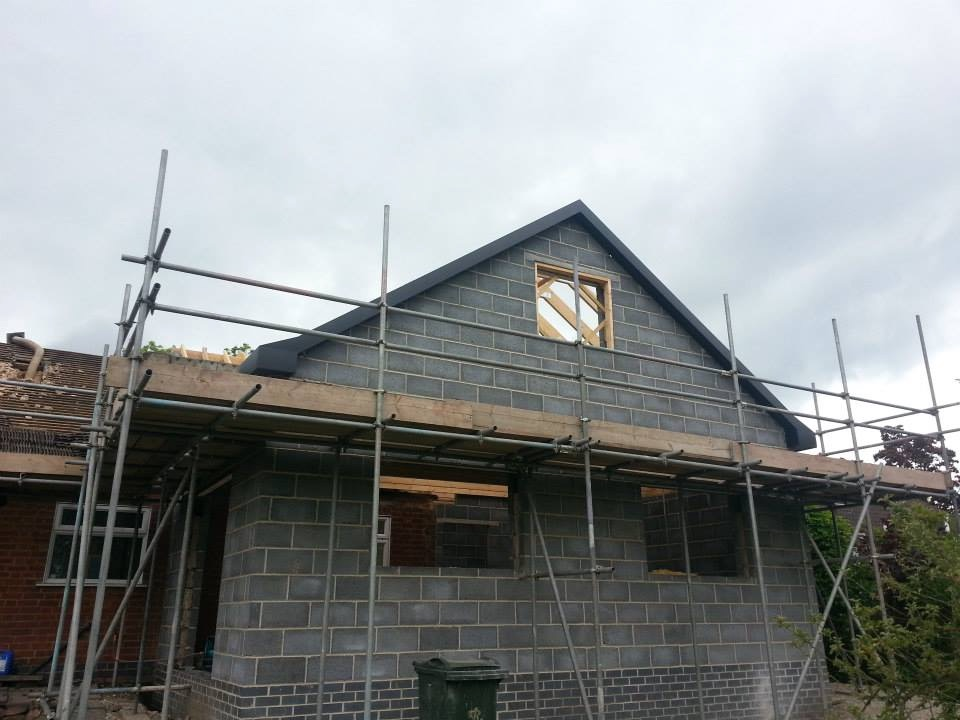 Redevelopment of gable end
