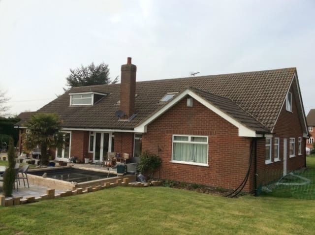 Bungalow before loft conversion