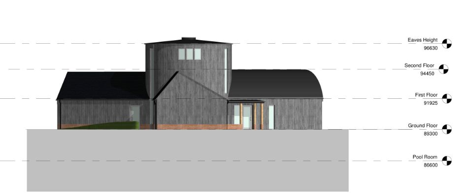 Passive House Drawing