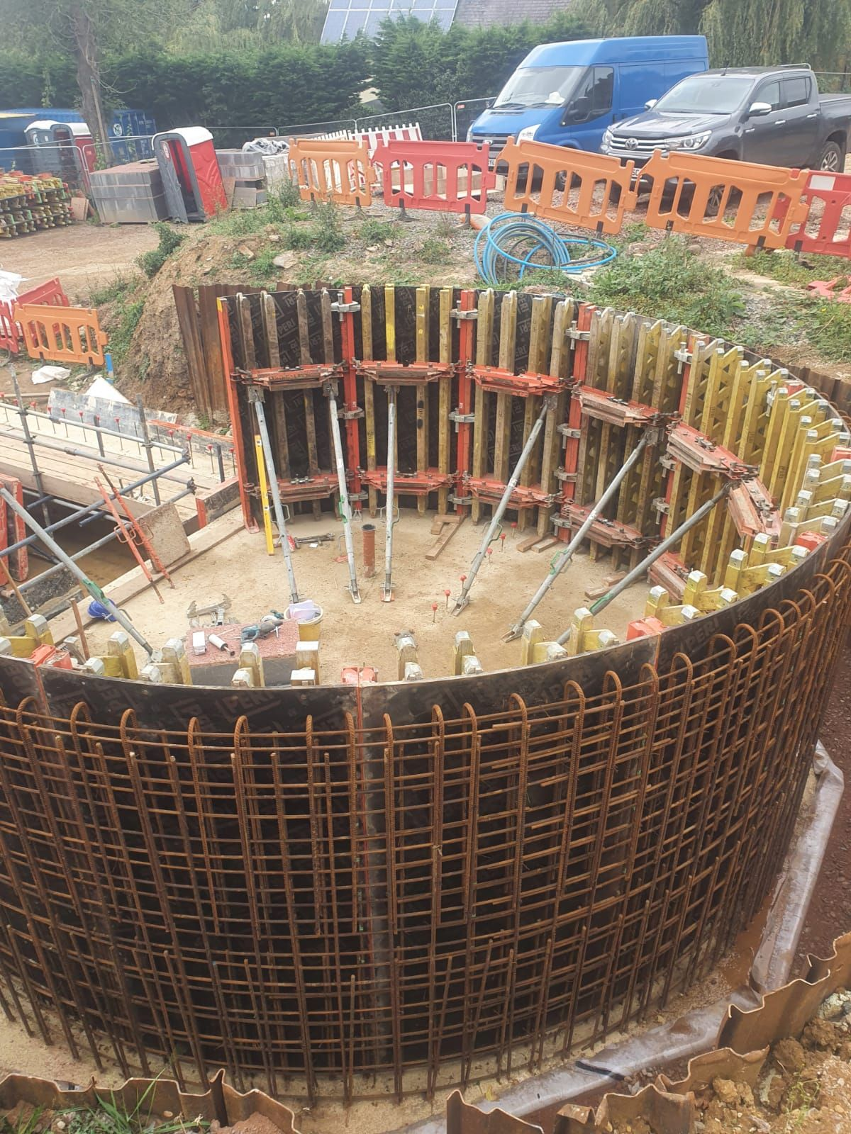 Shuttering for Rotunda