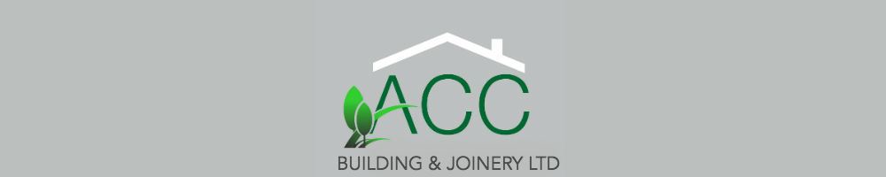ACC Building & Joinery, site logo.
