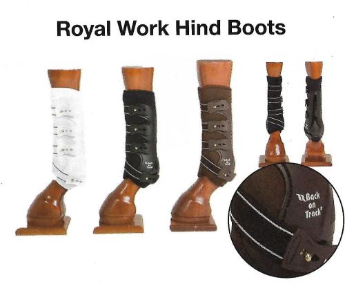 Back on Track® Work Boots, Royal (Hind Leg)