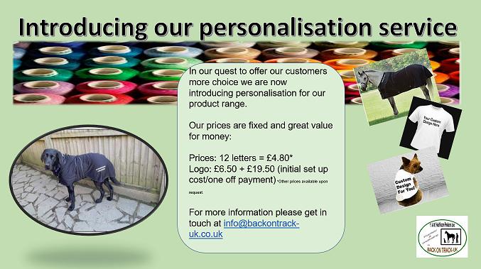 personalisation logo