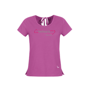 Organic cotton T-shirt with bow