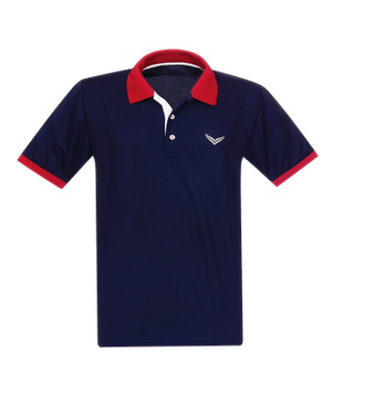 Poloshirt COOLMAX® Navy by twohearts®