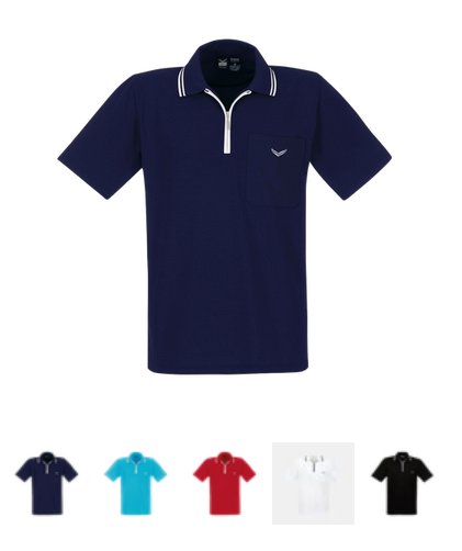 Poloshirt with zip by twohearts®