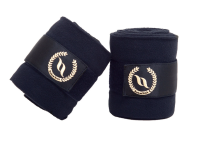 Back on Track® Equine 'Dark Nights' Collection Fleece Bandages
