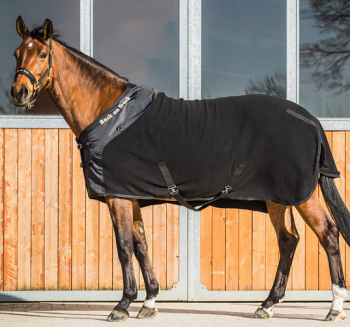 """Back on Track® Equine Fleece Rug Supreme (With """"D Rings"""") FREE EquiXTREME Leather Conditioner"""