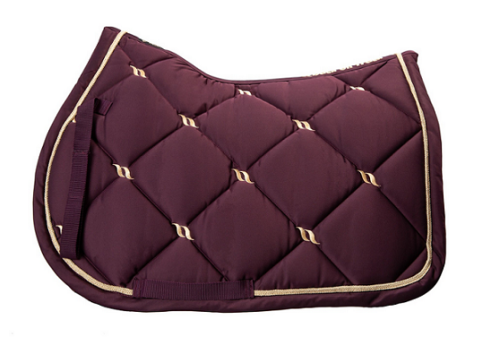 Back on Track® Equine 'Nights' Collection Saddle Pad, Jumping <font color=r