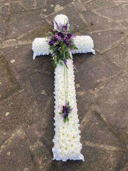 CR03 - Based White & Purple Cross