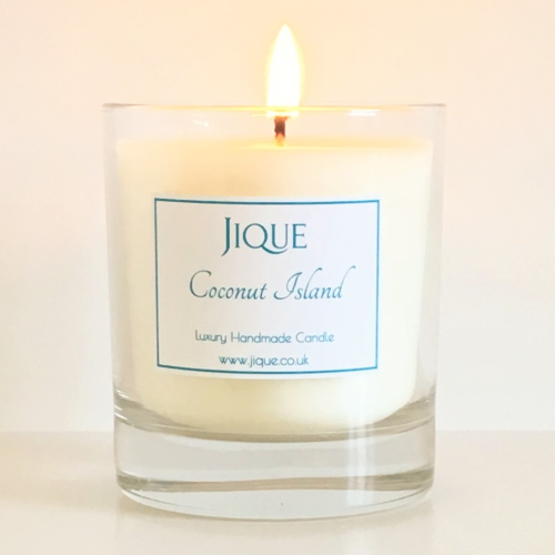 Coconut Island Scented Candle