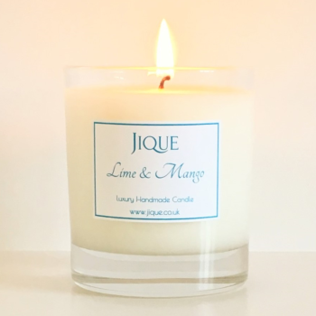 Lime & Mango Scented Candle