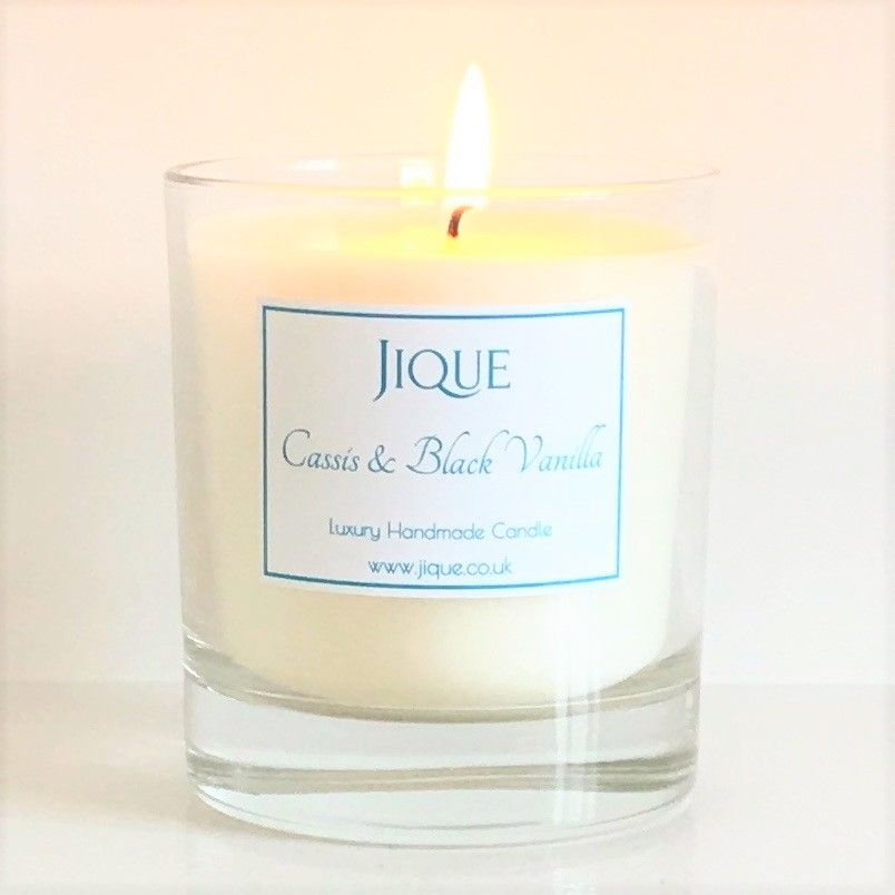 Cassis & Black Vanilla Scented Candle