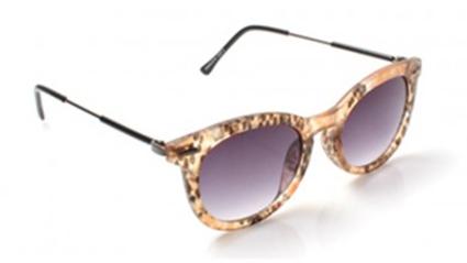 Snake Print Wayfarer Sunglasses