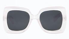 Pink Oversized Square Sunglasses