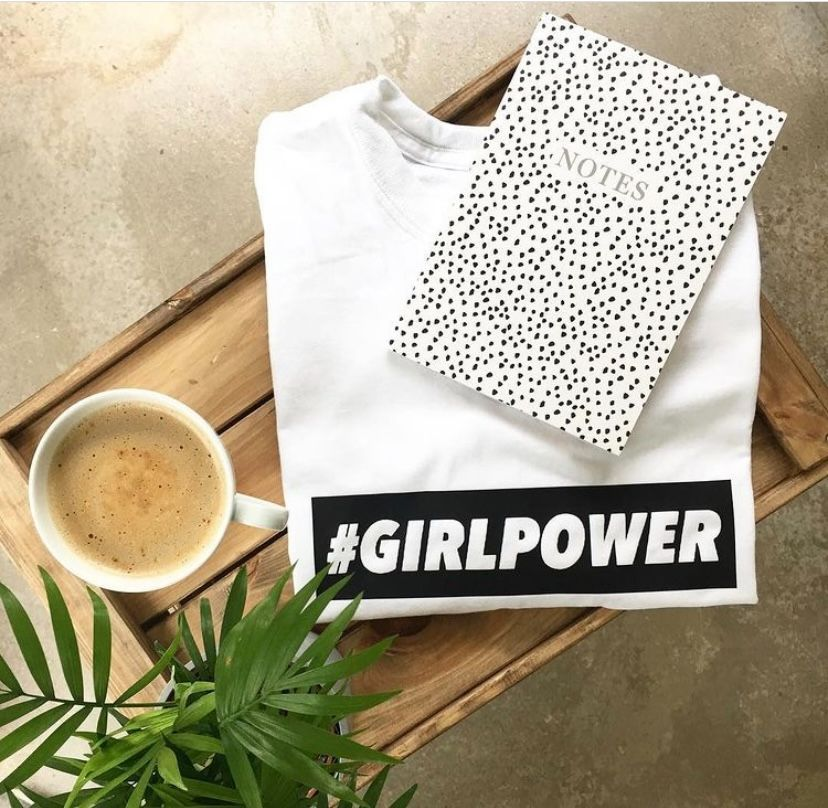 #Girlpower tee