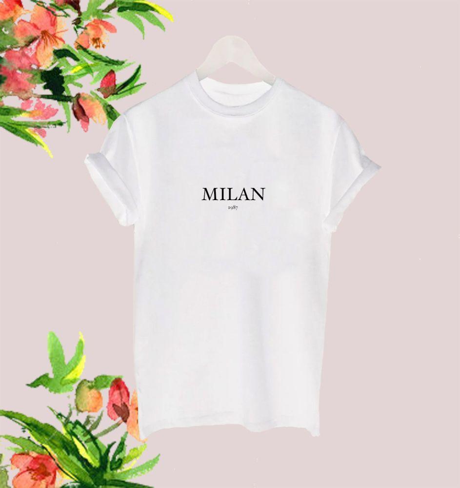 Milan 1987 tee
