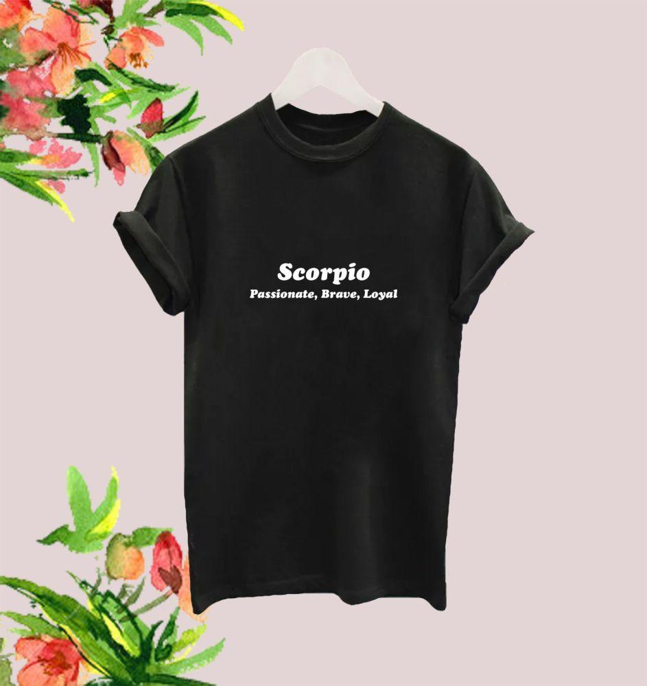 Scorpio traits tee