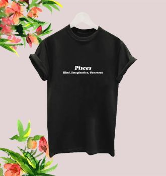 Pisces traits tee