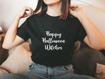Happy Halloween Witches Tee