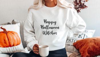 Happy Halloween Witches Sweatshirt