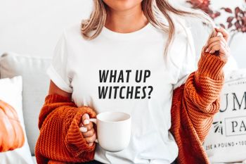 What up Witches Halloween Tee