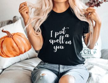 I Put a Spell on You Halloween Tee