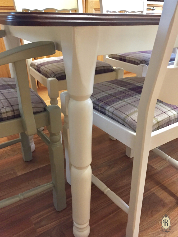 Kitchen Dining table leg TP