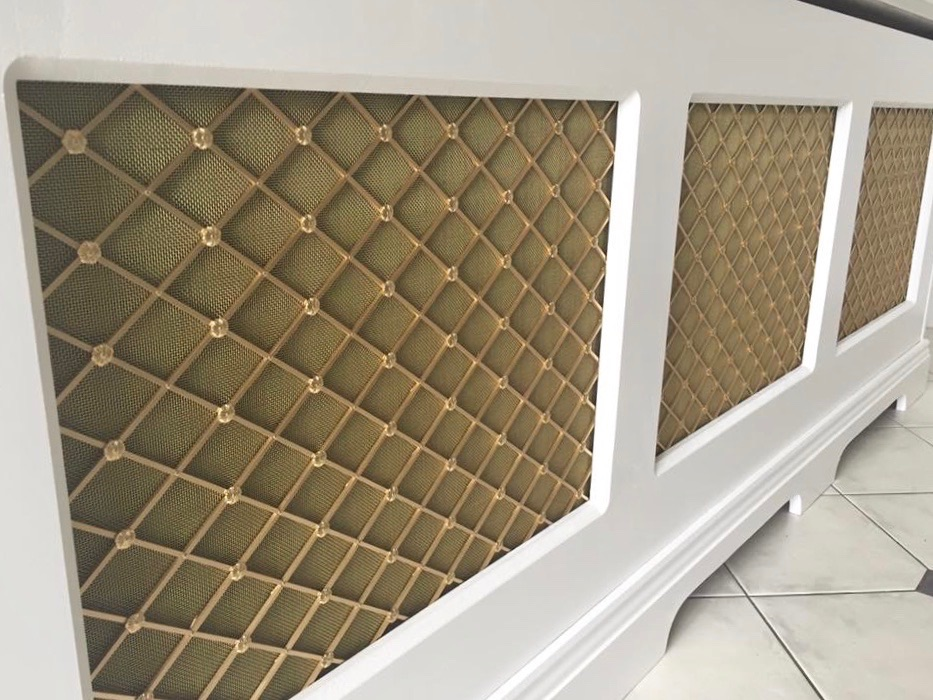 Brass Grills for a radiator cover