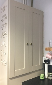 Blog - painting your kitchen boiler cupboard