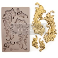 Decor Mould - Baroque Swirl