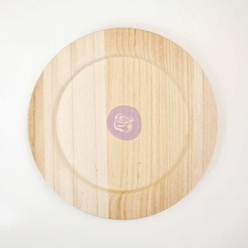 Wooden Blank Plate
