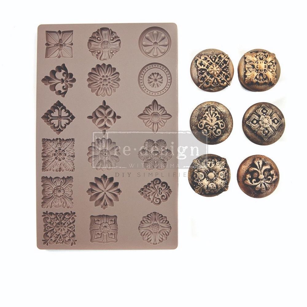 Curio Trinkets Silicone Mould