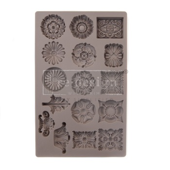 Etruscan Accents Silicone Mould