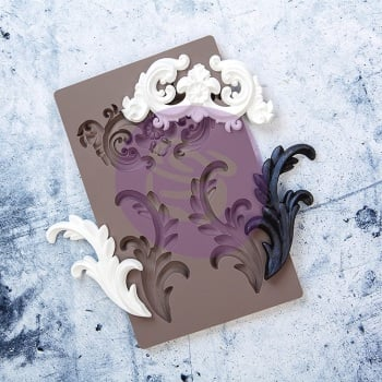 Silicone Mould - Everleigh Flourish