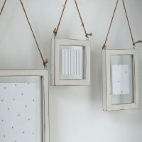 Trio Set of Hanging Glass Frames