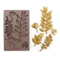 Decor Mould - Leafy Blossoms