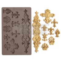 Decor Mould - Fleur de Lis