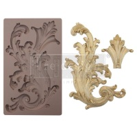 Silicone Mould - Portico Scroll II