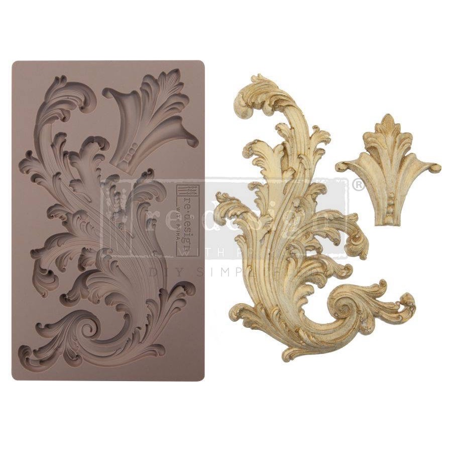 Silicone Mould - Portico Scroll I