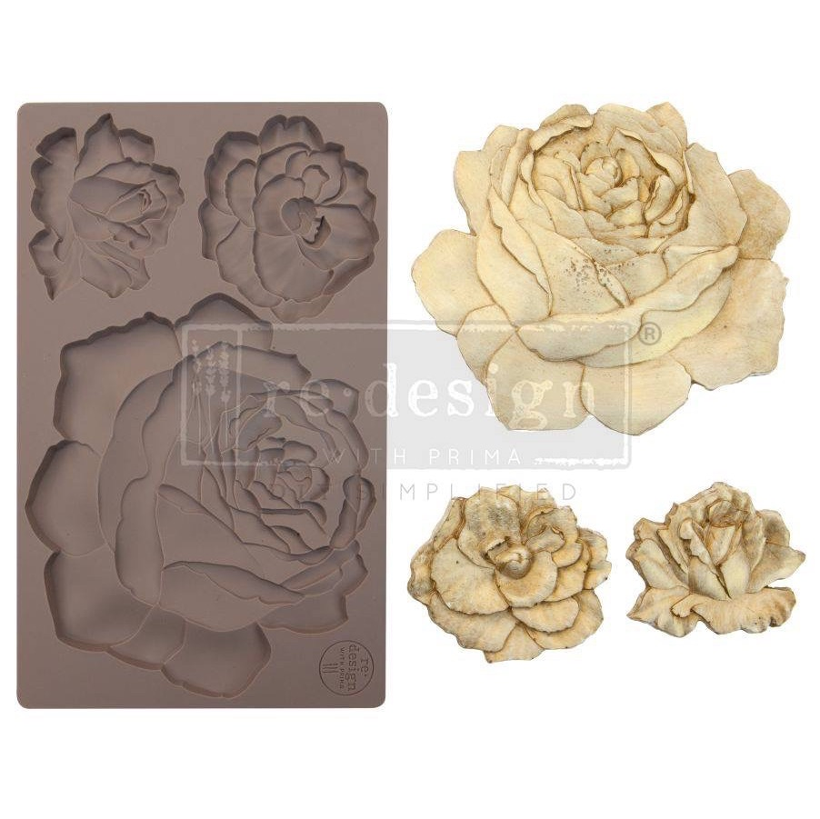 Silicone Mould - Etruscan Rose