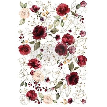 Decor Transfer - Midnight Floral