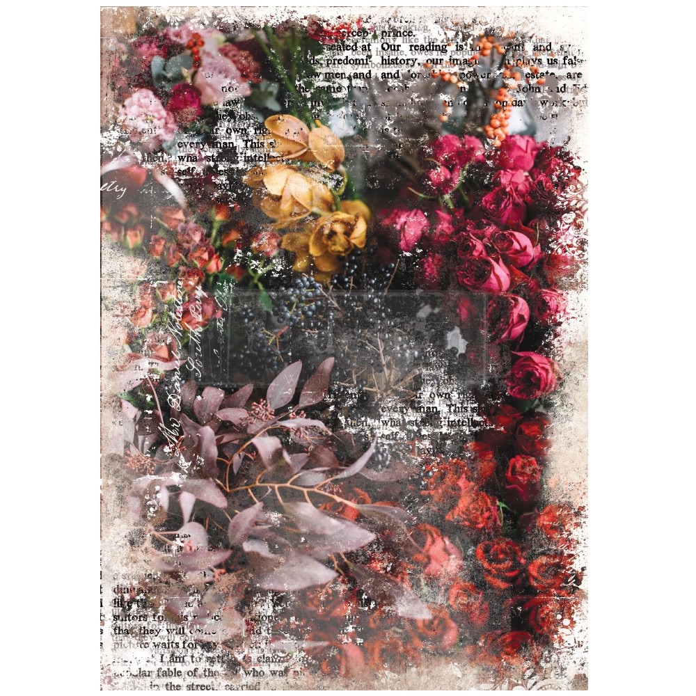 Decoupage Tissue Paper - Iva