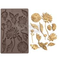 Silicone Mould - Botanist Floral