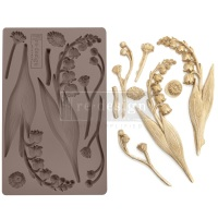 Decor Mould - Bell Orchids