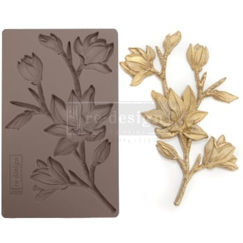 Silicone Mould - Forest Flora