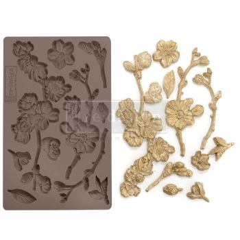 Silicone Mould - Cherry Blossoms